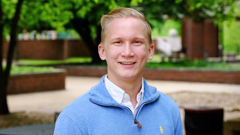 Student leader named 2016 Newman Civic Fellow
