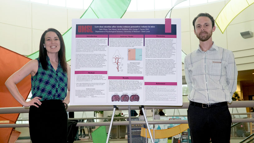 Research, research, research: 8 undergraduate projects underway at UMSL