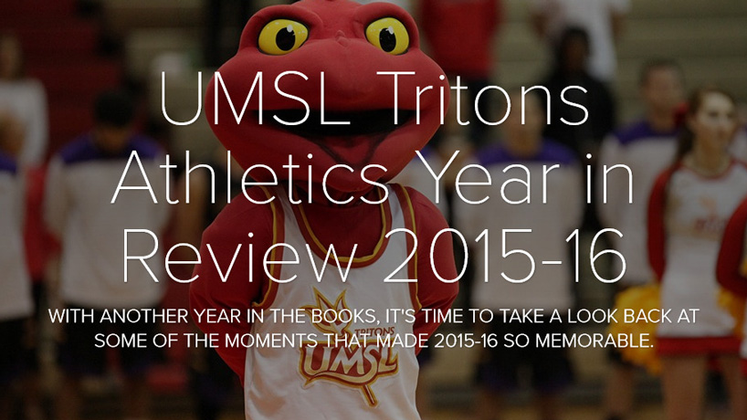 UMSL Tritons Year in Review