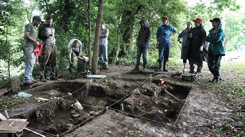 Digging into the dig: Daniel Pierce talks archaeology summer field school in Excelsior Springs