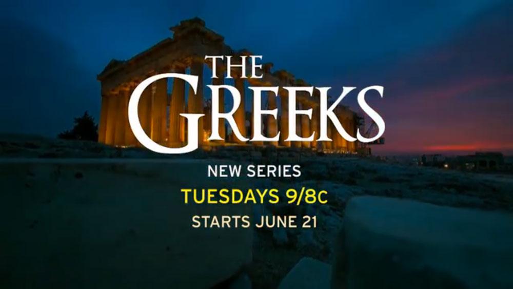 """The Greeks"" TV series on PBS"