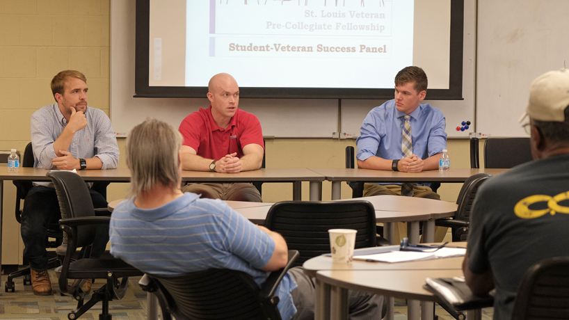 UMSL student veterans share lessons on work/life balance, college