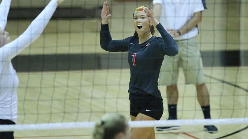 Athletics Q&A with junior volleyball player Danielle Waedekin
