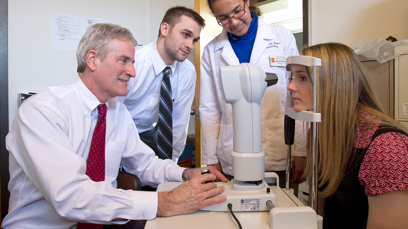 Optometry professor garners top honors for contributions to contact lenses