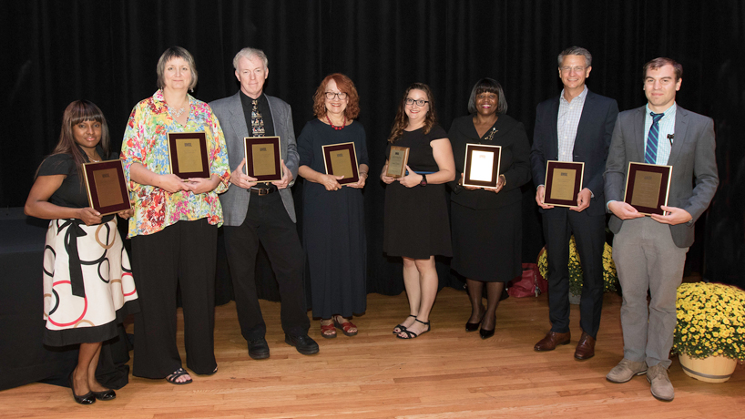 Outstanding faculty, staff service in the spotlight at State of the University event