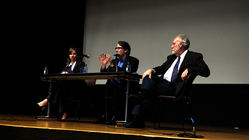 UMSL political scientists share insights on 'Huge election' during Carpenter Series lecture