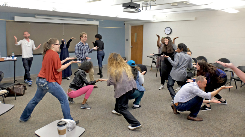 Eye on UMSL: Warming up to Shakespeare