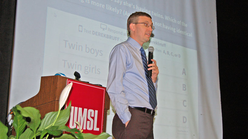 Teaching conference attracts 500 to UMSL