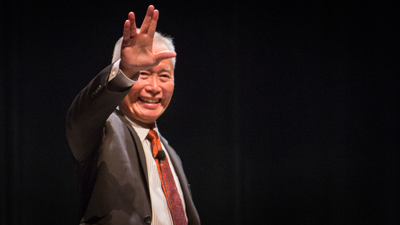 George Takei talks setbacks, Star Trek and next steps during campus address