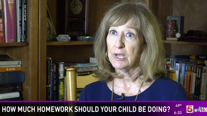 Education professor and homework expert weighs in on an issue familiar to both parents and students
