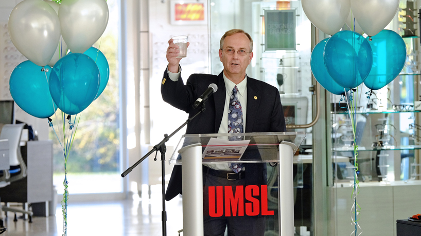UMSL Patient Care Center, new home for College of Optometry, hosts grand opening