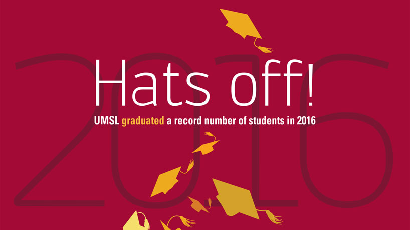 Hats off! UMSL graduated record number of students in 2016