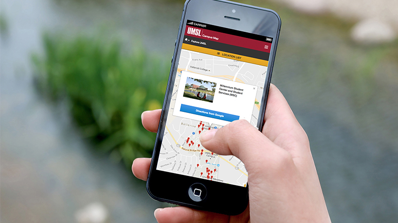 Navigating the UMSL campus just got easier