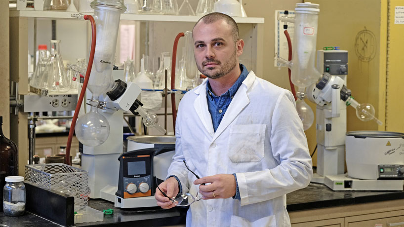 A sweet deal: Sicilian graduate studies sugar chemistry, lands Monsanto job