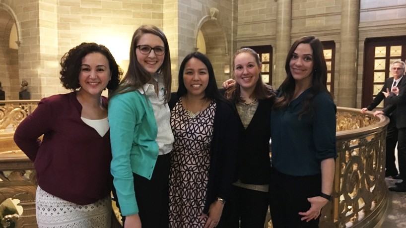 Optometry students, faculty, alumni travel to Jefferson City to lobby and connect