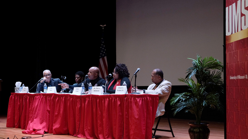 Panel discusses ways to mold future for African Americans in St. Louis