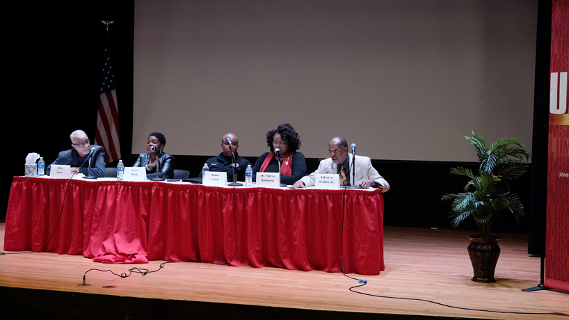 Elbert A. Walton Jr. and other panelists