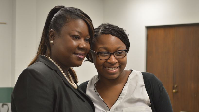 Sybrina Fulton, mother of Trayvon Martin, spurs UMSL audience to deeper understanding of others