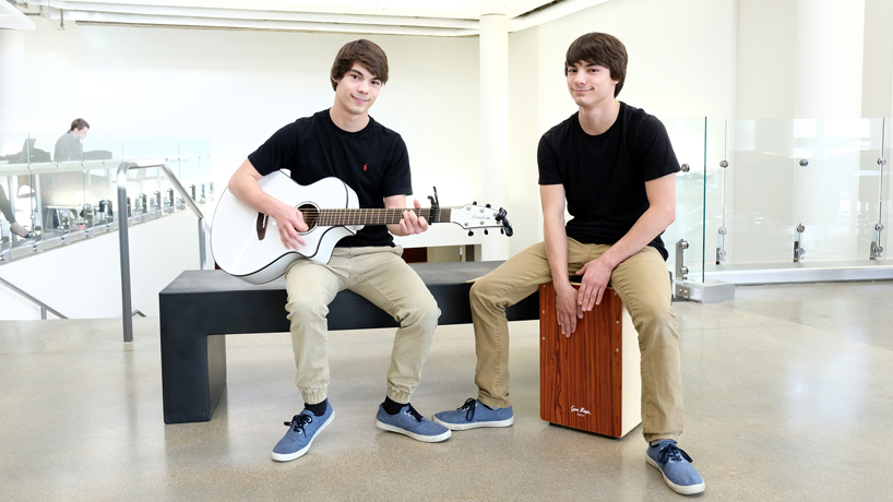 Meet Dustin and Casey Aschinger: Twins, classmates and future health professionals