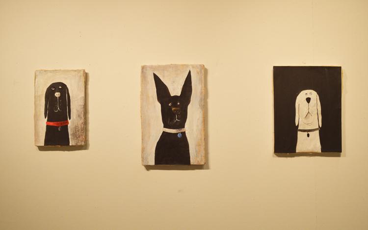 Dog Show trio