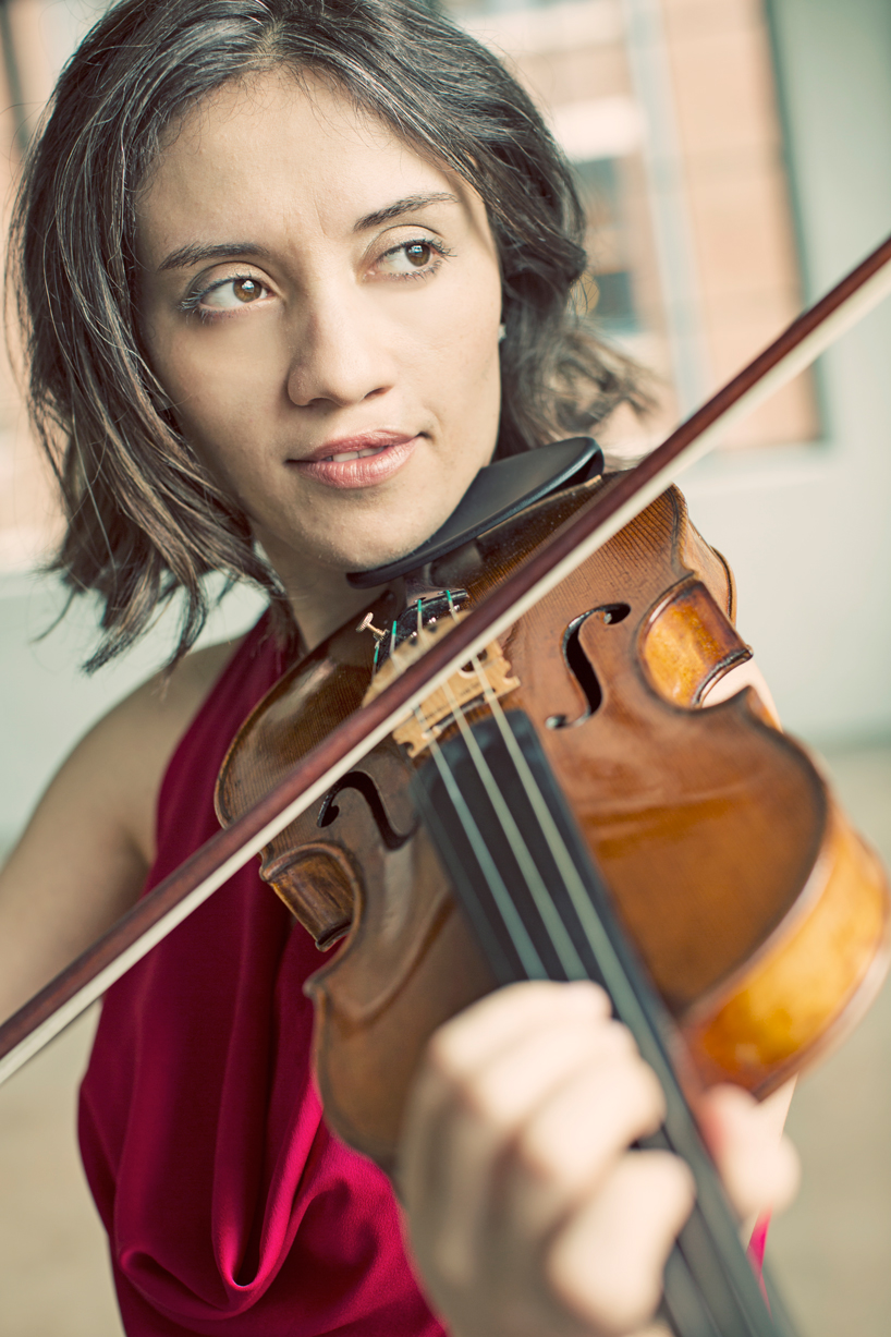 Julia Sakharova of Arianna String Quartet