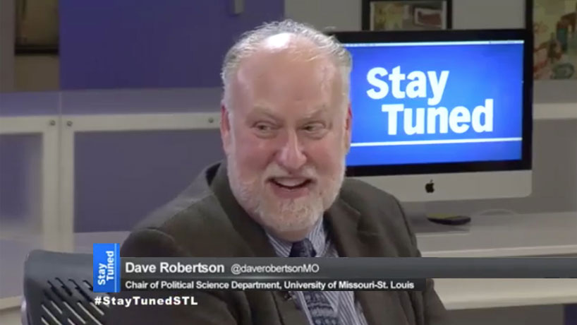 Dave Robertson helps break down St. Louis mayoral race on 'Stay Tuned' on the Nine Network