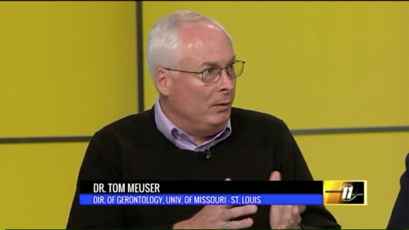 Tom Meuser discusses impact Alzheimer's can have on caregivers on 'The Pulse of St. Louis'