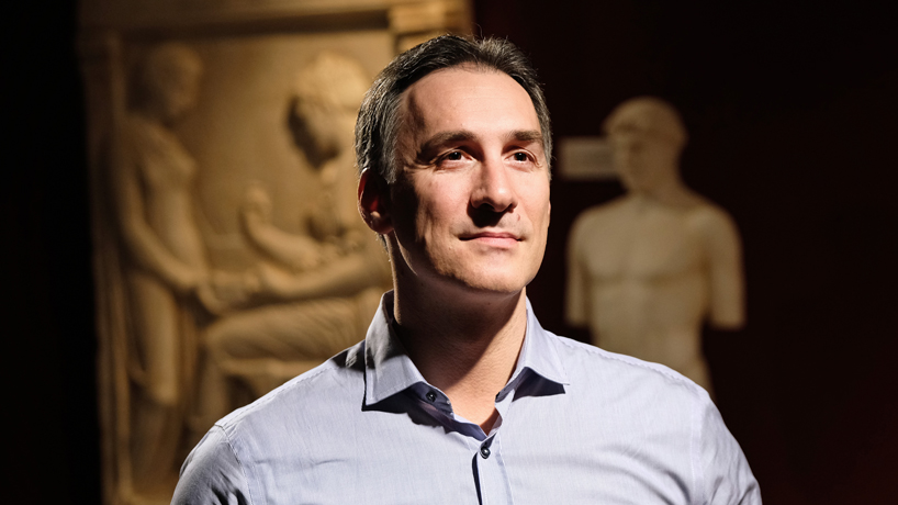 Fellowship awarded to UMSL's Nikolaos Poulopoulos extends his research on Greek migration