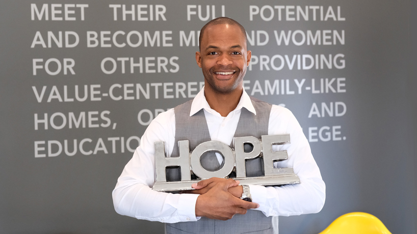 UMSL alumnus comes full circle as executive director of Boys Hope Girls Hope St. Louis