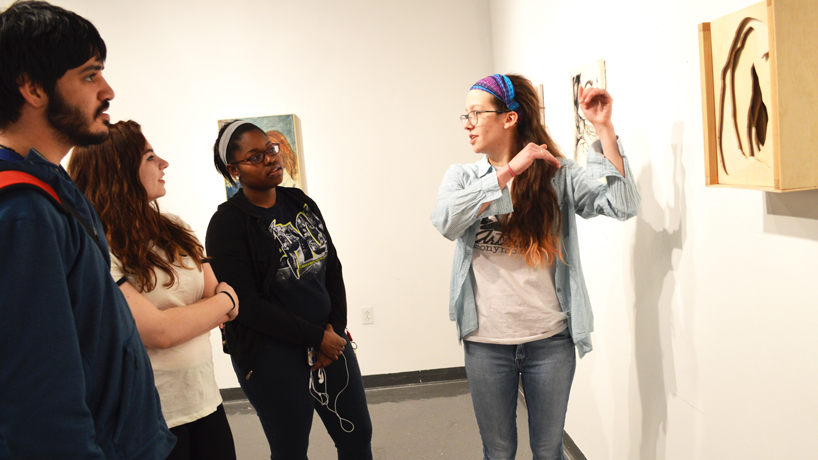 'It Figures' exhibition showcases student artwork on being human