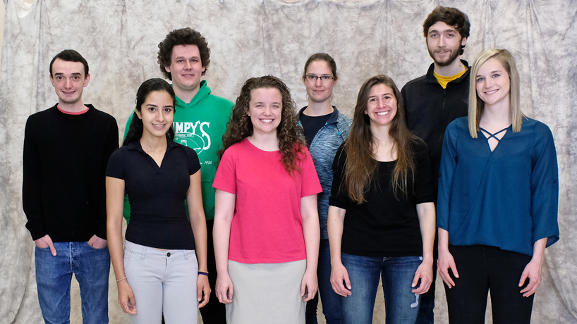 12 undergraduate students earn College of Arts and Sciences research grants