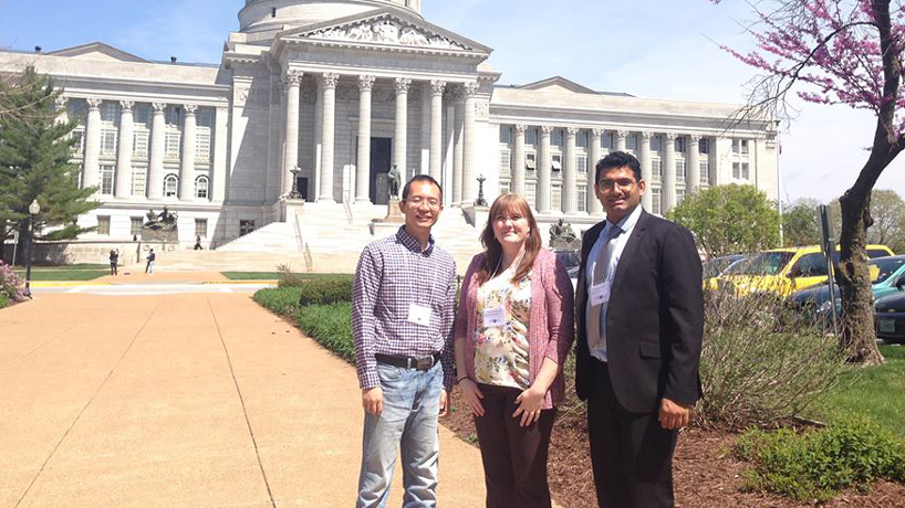 Students advocate for international education, explore history of democracy in Jefferson City