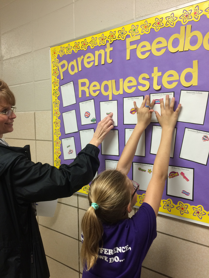 STEM Night, parent feedback