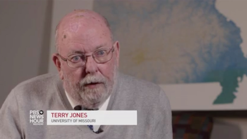 Terry Jones discusses the blue-city, red-state divide in Missouri with PBS NewsHour