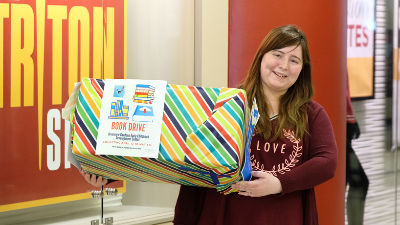 Kristen Flood and the UMSL Writers Group aim to collect 300 books for local preschoolers