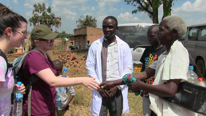 College of Nursing alumna travels to Uganda to aid fellow grad's health-care and community-building efforts