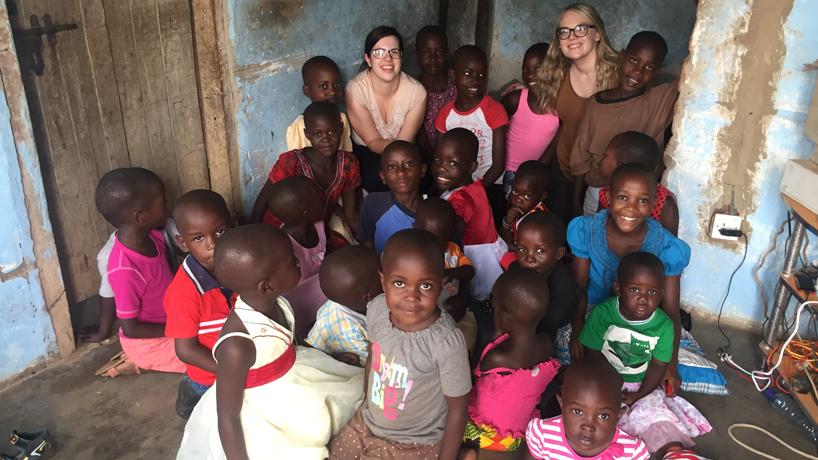 Kelli Rowland in Uganda, UMSL