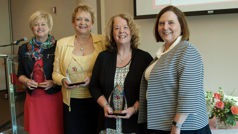 College of Nursing celebrates 35 years, honors 4 remarkable alumni