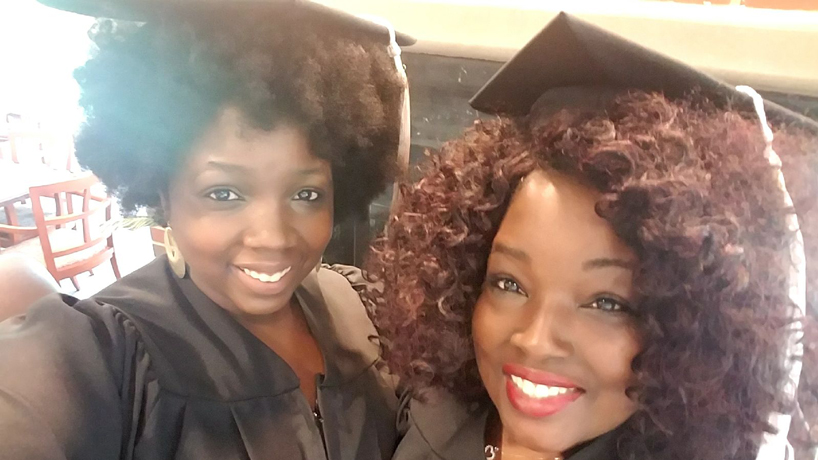 A 'short, sweet ride': Mother-daughter graduates share transformative journey in earning degrees