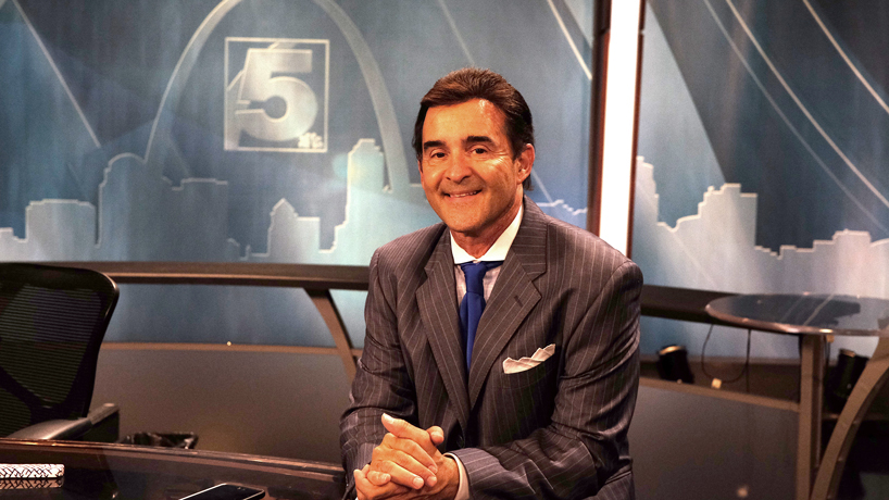 Communication alumnus Frank Cusumano settling into dream job at KSDK