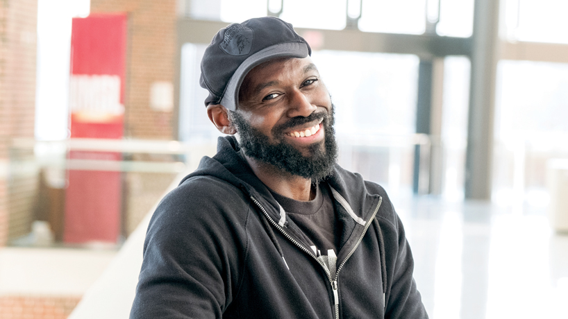 Soul musician Brian Owens returns to a campus he never really left