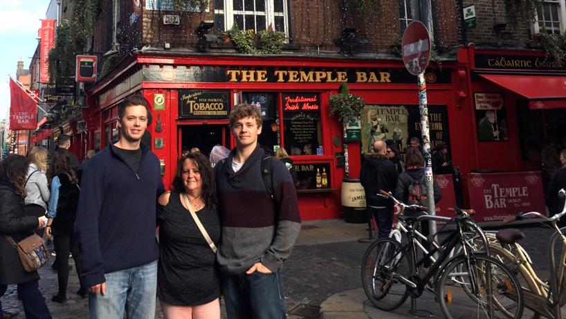 Brendan McCoy, study abroad