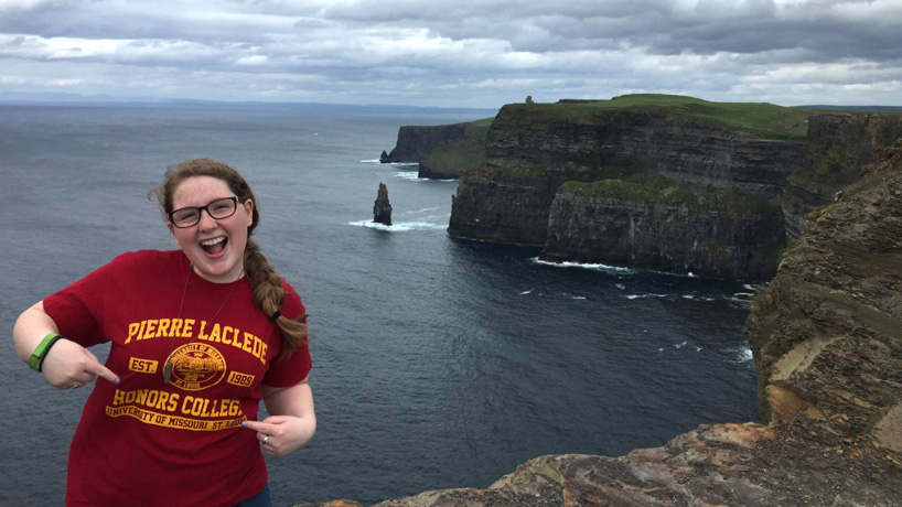 Carly Vogel, study abroad