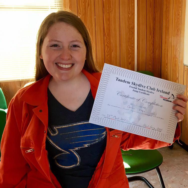 Carly Vogel, study abroad