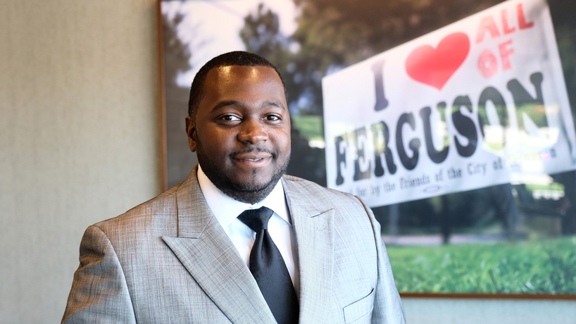 MPPA graduate Cordaryl Patrick working to spur economic development in north St. Louis County