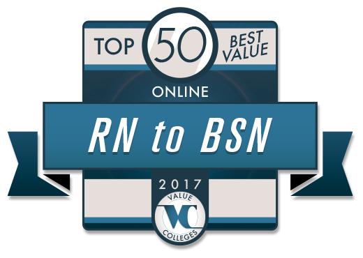 UMSL, Top 50 BV Online RN to BSN