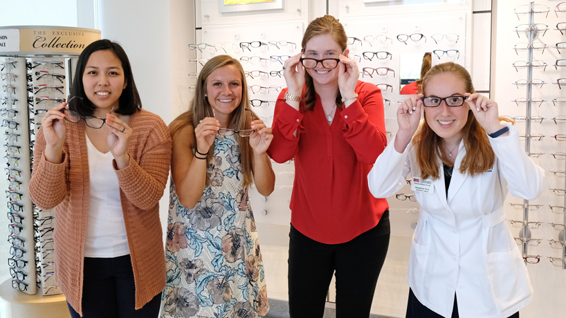 Love of vision, love of country: 4 UMSL optometry students earn full-ride Army scholarships