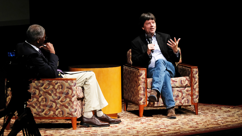 Eye on UMSL: A visit from Ken Burns