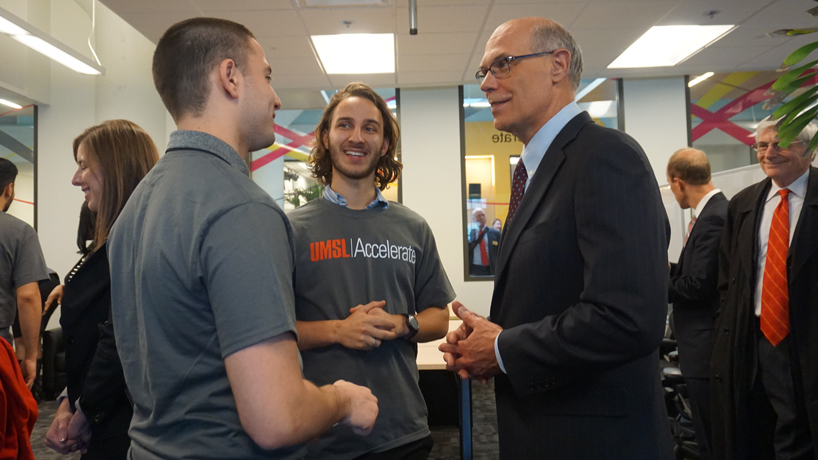 The biggest competitive advantage: UMSL interns embrace opportunities in first Ameren Accelerator cohort