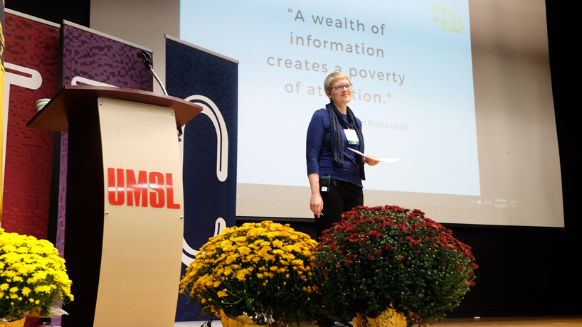 Focus on Teaching and Technology Conference draws 600 educators to UMSL